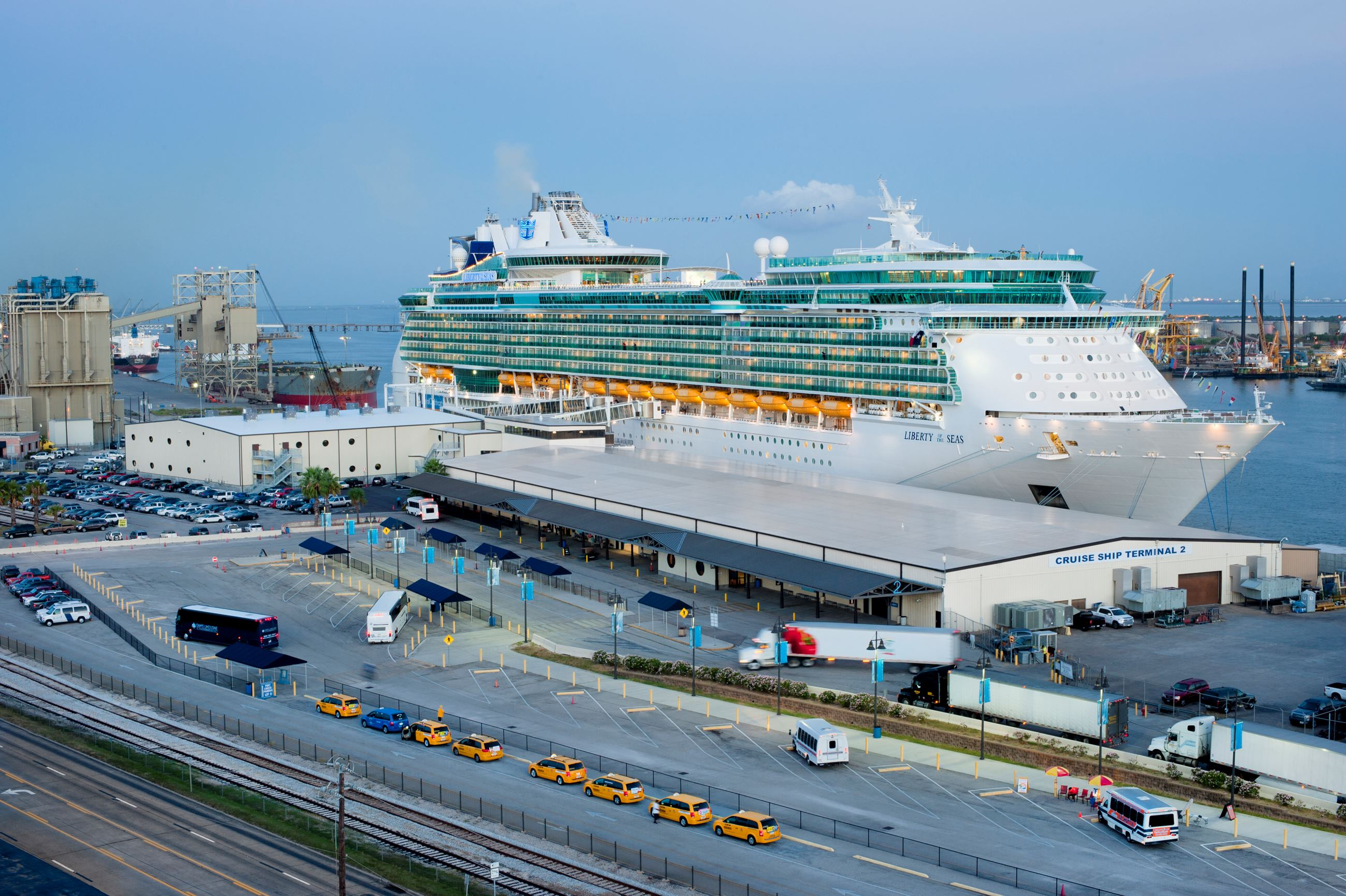 2016 CT2 and Liberty of the Seas