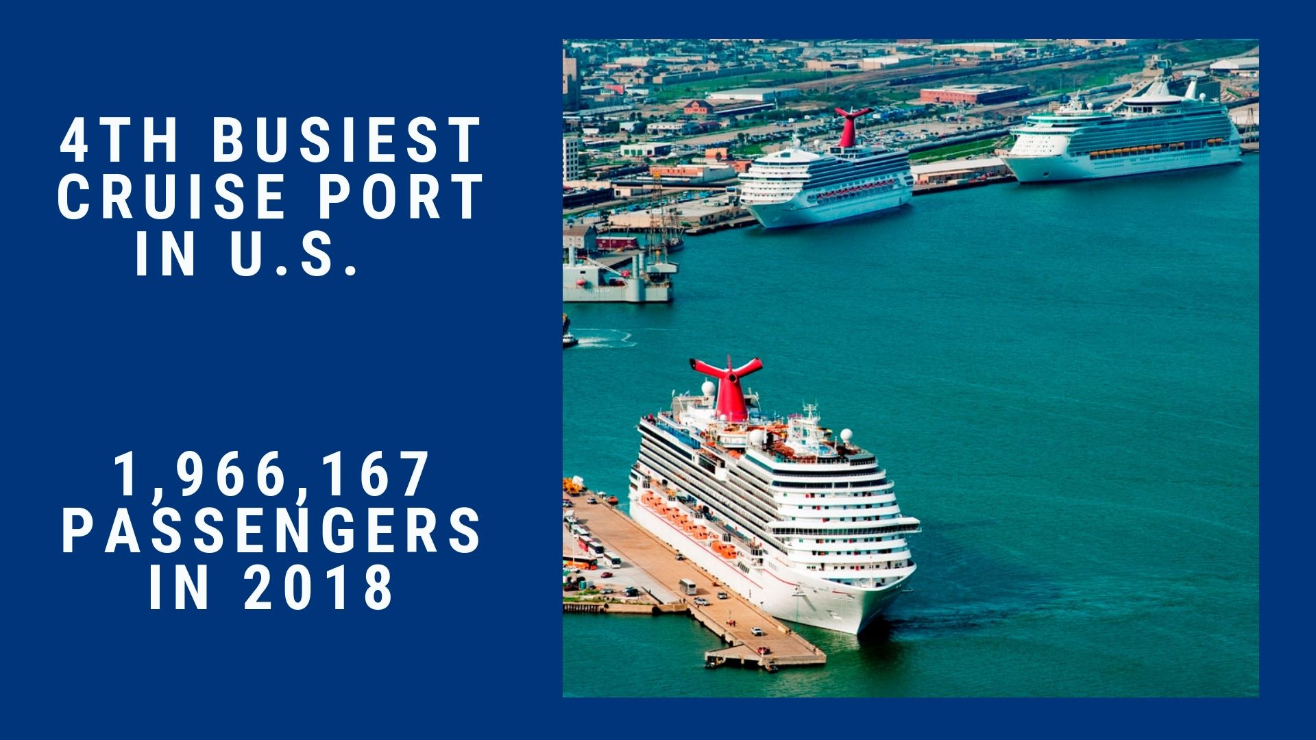 2019 Homepage Slideshow 4th busiest cruise port in US updated